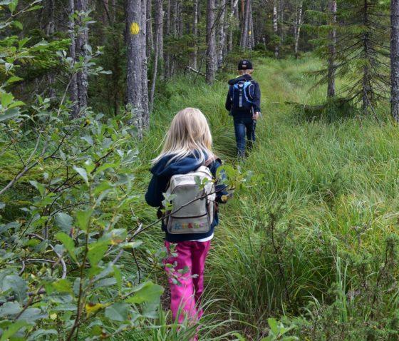 Barn i Naturen. Foto: Anette Wikander, Alnö